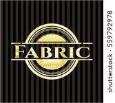 fabric golden badge | Shutterstock .eps vector #559792978