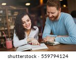 young students studying in...   Shutterstock . vector #559794124