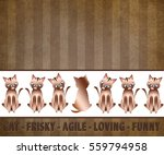 cat background graphic... | Shutterstock . vector #559794958