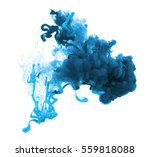 acrylic colors and ink in water.... | Shutterstock . vector #559818088