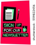 Sign Up For Our Newsletter ...