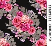 elegant seamless pattern with... | Shutterstock .eps vector #559825858
