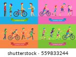 set of summer sport concepts.... | Shutterstock .eps vector #559833244