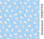 seamless pattern hand drawing... | Shutterstock .eps vector #559837570