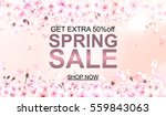advertisement about the spring... | Shutterstock .eps vector #559843063