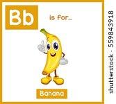 Cartoon Fruit Alphabet...