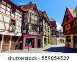colmar  france   august 21  old ... | Shutterstock . vector #559854529