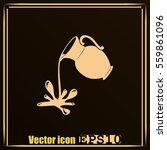 milk jug or pitcher logo   Shutterstock .eps vector #559861096