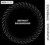 design spiral dots backdrop.... | Shutterstock .eps vector #559884253