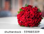 Stock photo bouquet of roses 559885309