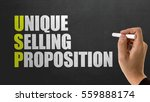 Small photo of USP - Unique Selling Proposition