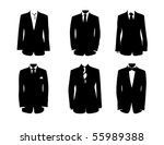 fancy outfit | Shutterstock .eps vector #55989388