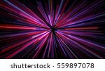 colored motion rays of purple... | Shutterstock . vector #559897078