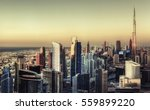 beautiful panoramic skyline of... | Shutterstock . vector #559899220