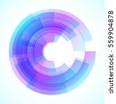 geometric frame  vector... | Shutterstock .eps vector #559904878