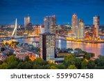 Rotterdam. Cityscape Image Of...