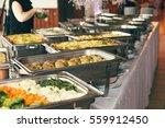catering wedding event plate... | Shutterstock . vector #559912450