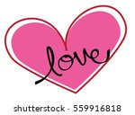 love heart | Shutterstock .eps vector #559916818