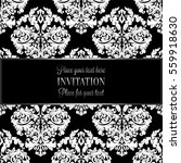 baroque background with antique ... | Shutterstock .eps vector #559918630