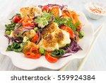 fried cauliflower and mixed... | Shutterstock . vector #559924384
