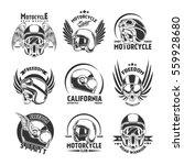 motorcycle helmet design... | Shutterstock .eps vector #559928680