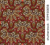 ornate floral seamless texture  ... | Shutterstock .eps vector #559930858