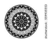 mandala. ethnic round ornament. ... | Shutterstock .eps vector #559935553