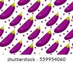 peach seamless pattern. apricot ... | Shutterstock .eps vector #559954060