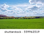 british countryside scenery in... | Shutterstock . vector #559963519