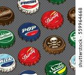 seamless retro   classic... | Shutterstock .eps vector #559964668