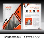 business brochure flyer... | Shutterstock .eps vector #559964770