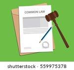 common law concept illustration