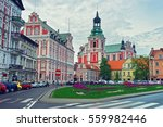st stanislaus church in the old ... | Shutterstock . vector #559982446