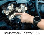 smart car and internet of... | Shutterstock . vector #559992118