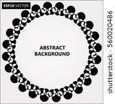 design spiral dots backdrop.... | Shutterstock .eps vector #560020486