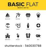 basic set of diving equipment ... | Shutterstock .eps vector #560030788