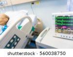 old man sickness sleep on the... | Shutterstock . vector #560038750