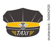 taxi badge vector illustration. | Shutterstock .eps vector #560042920