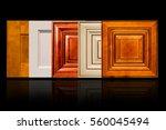 luxury style of kitchen cabinet ... | Shutterstock . vector #560045494
