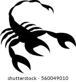 scorpion icon | Shutterstock .eps vector #560049010