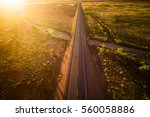 aerial photograph of great... | Shutterstock . vector #560058886