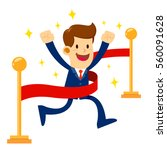 vector stock of a businessman...   Shutterstock .eps vector #560091628