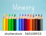 memory text on background with... | Shutterstock . vector #560108923