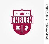 emblems badge style logo vector | Shutterstock .eps vector #560128360