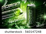 Energy Drink Contained In Gree...