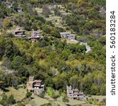 Small photo of Danba County, a county in Sichuan Tibetan village natural scenery