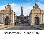 Christianborg Palace Entrance...