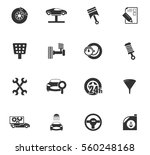 car service vector icons for... | Shutterstock .eps vector #560248168