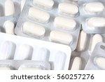 medical and vitamin pills.... | Shutterstock . vector #560257276