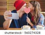 Amorous Guy And Girl Making...